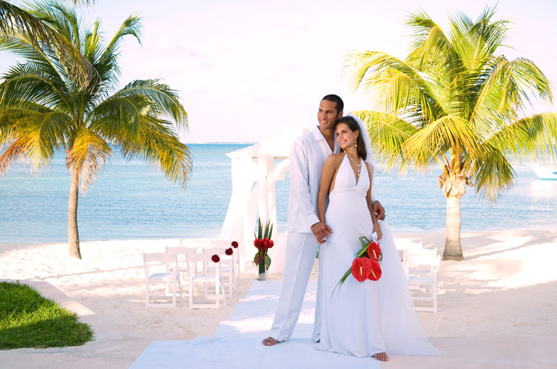 cancun beach resort wedding